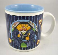 Catillac Rich Fat Cat Kitty Coffee Mug Nancy Carlson Midwest Cannon Falls 1985