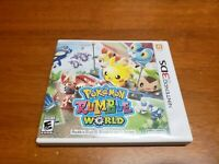 Pokémon Rumble World (Nintendo 3DS, 2016) CIB Complete TESTED Fast Shipping