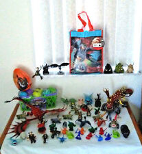 How to Train Your Dragon Rare Huge Figure egg Live Spectacular Toothless Hiccup+