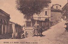 REPUBBLICA DI S. MARINO - Piazza e Monumento a Garibaldi