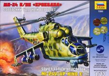 MIL Mi 24 V/VP HIND E (SOVIET & RUSSIAN MARKINGS) 1/72 ZVEZDA BEST EVER MADE