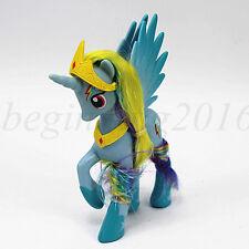 My Little Pony Friendship is Magic Rainbow Dash&Crown PVC Figure Toy Kid Gift