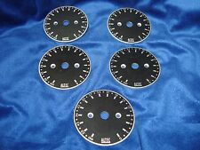 Qty 5 Vintage Altec Lansing Stepped Attenuator Dial Plates ORIGINAL SCARCE