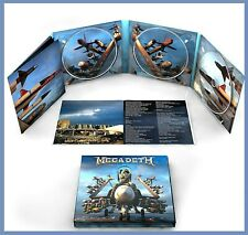 "Megadeth ""warheads on foreheads"" 3CD NEU Best-Of-Album 2019"