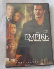 """NEW AND SEALED 2003 John Leguizamo """"Empire Two Worlds Collide"""" DVD"""