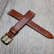 1960/70's Vintage Speidel Brown Genuine Lizard 19mm Watch Band – Canada
