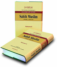SPECIAL OFFER! Summarised Sahih Muslim - Arabic / English (2 Volume Set) HB