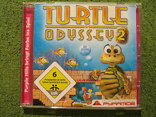 PC CD Rom Spiel Turtle Odyssey 2 (PC, 2008, Jewelcase) 3D Jump & Run Schildkröte