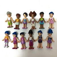 Random 5pcs LEGO Friends Fashion Girls Minifigure Mixed color building part toy