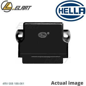 CONTROL UNIT GLOW PLUG SYSTEM FOR MERCEDES BENZ 190 W201 OM 602 911 HELLA 132036
