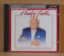 CD A Touch of Fiedler Newton Wayland Denver Symphony Pops Sion Digital 1990