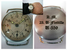 GERMAN WW2 NAVY Officer U-Boat WRISTWATCH --- U-559 Kriegsmarine 23.Flottille --