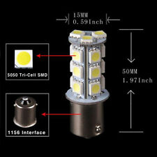 10Pcs 1156 BA15S/1141/1073/1093 18 SMD 5050 LED Replacement Bulb Light 12V New
