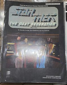1980s THEME from STAR TREK:Next Gen Sheet Music-Roddenberry/Goldsmith- UNUSED