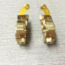 59g Metal Brass Front Steering Knuckle Upgrade For RC Traxxas TRX-4 Crawler