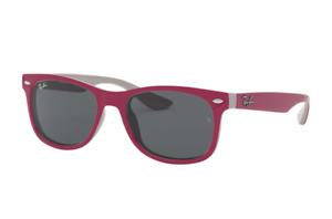 Ray Ban Sunglasses Junior RJ9052S 177/87 48 Purple Grey Frame  Grey Classic