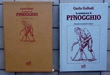 CARLO COLLODI LE AVVENTURE DI PINOCCHIO ILLUSTRATO DAL PITTORE G. GALIZZI