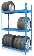 BRB 70951 Reifenregal mit 3 Ebenen Reifenregal Werkstatt Werkstattregal Auto