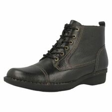 Clarks Lace Up Boots for Women