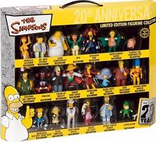 United Labels 0805390 21teilig 3D Figuren Set Simpsons Limited Edition 20th Year