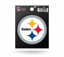 "Rico NFL Pittsburgh Steelers 3"" x 3"" Die-Cut Decal Window, Car or Laptop new"