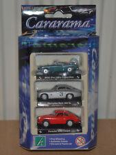 CARARAMA / HONGWELL - ROADSTERS SET - MERCEDES 300SL / PORSCHE 356B COUPE / MGB