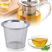 Reusable Mesh Infuser Tea Strainer Metal Tea Leaf Spice Filter for Teapot