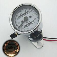 Moto double compteur kilométrique Compteur de vitesse LED Signal Mettez Lumière