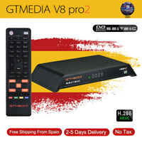 Receptor Satellite Receiver Gtmedia V8 Pro2 HD 1080P Built in Wifi Support H.265