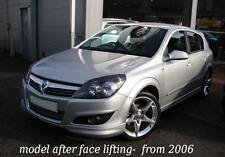 VAUXHALL OPEL ASTRA H 5 DOOR from 2007 - BODY KIT - FR + RE + SS - OPC VXR look