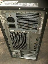 Fujitsu Primergy TX100 S32 Server Intel i3 540 CPU @ 3.06GHz 2 x 250GB HDD RAID1