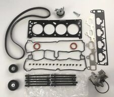 HEAD GASKET SET BOLTS WATER PUMP TIMING BELT KIT Z18XE 1.8 OPEL VAUXHALL HOLDEN