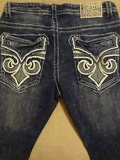 AFFLICTION ACE  32 or 33 or 34 or 36  Fleur Mens Blue Stretch Jeans Orig. $135+