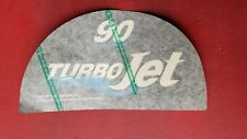 OMC Turbojet Decal  90hp Jet Drive
