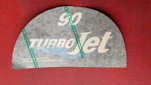 OMC Turbojet Decal  90hp Jet Drive