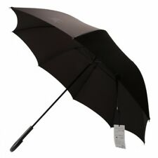 New Burberry Umbrella Horse mark Black Mens 65cm from Japan