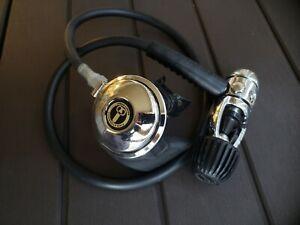 US Divers Conshelf 14 XIV Regulator rebuilt to dive aqua lung scuba modern 1st