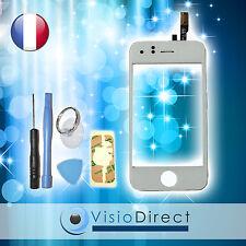 Ecran vitre tactile pour iPhone 3GS blanc + stickers autocollant + kit outils