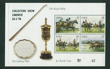 HORSE  RACING  1996 DX164 LIMERICK  EXHIBITION  HORSES BOOKLET PANE - SCARCE