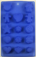 Assorted Shapes Silicone Mold 14 Cavities - NEW - Choose the color you want!
