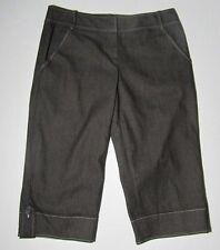 "ANN TAYLOR LOFT Marisa fit denim cropped  Capri pants - size 4 Inseam 17"""