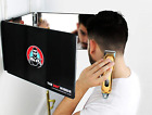 Peluquero de 360 grados Espejo de 3 vías ajustable plegable corte de cabello