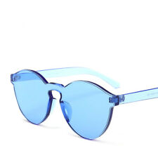 Fashion Candy Color Transparent Bright Glasses Sunglasses Trend for women men