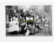 mm366 - King of Siam visits Russia in 1897 - large group of Royals -  photo 6x4""