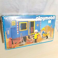 ~ NEW ~ PLAYMOBIL # 3760 CONSTRUCTION TRAILER ~ NEW ~