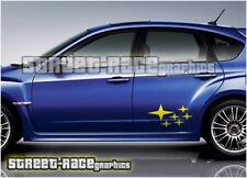 Subaru Impreza 004 estrellas Calcomanías Pegatinas Gráficos WRX STI BRZ XV