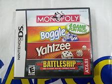 NDS GAME ATARI 4 GAMES FUN PACK (ORIGINAL USED)