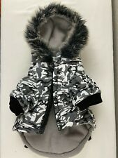 Pet Life Camouflage Dog Coat Arctic Camo Winter Jacket Thinsulate Small