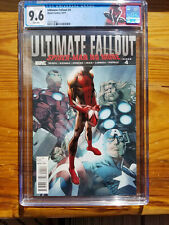 Ultimate Fallout #4 💥 CGC 9.6 💥 First Print 1st new Spider-Man MILES MORALES