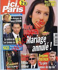Ici Paris 3281 - 20/05/2008 Marie Drucker Pascal Sevran Cannes Gargia